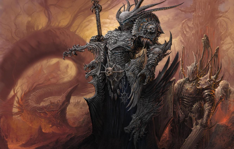 Фото обои Warhammer, Mark of Chaos, Warhammer: Mark of Chaos, Warhammer Mark of Chaos
