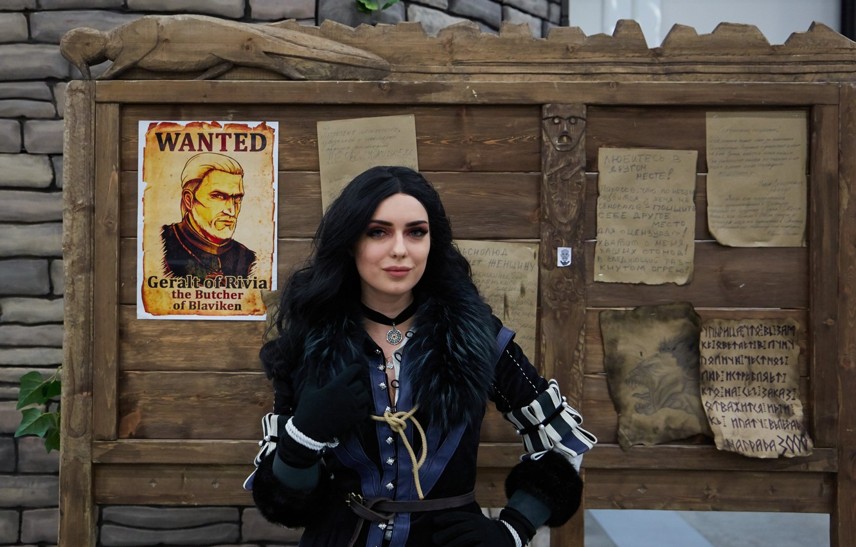 Фото обои Дикая Охота, Ведьмак 3, The Witcher 3, Yennefer, Йеннифер