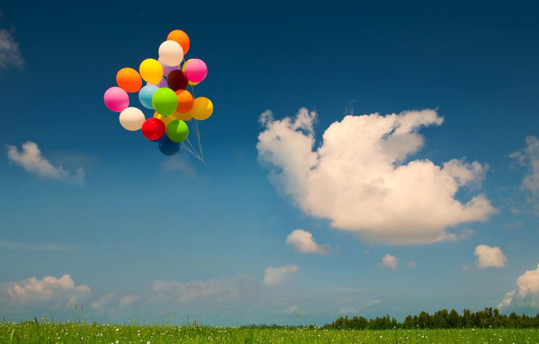 один друзей фото небо с шарами видно, существуют
