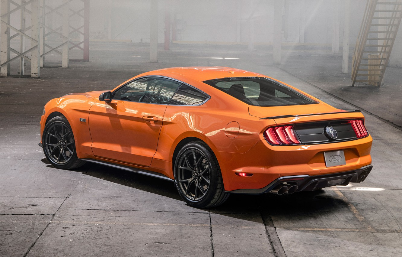 Фото обои Mustang, Ford, EcoBoost, 2020, High Performance Package