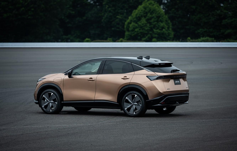 Фото обои Nissan, JP-spec, 2020, Ariya, e-4orce