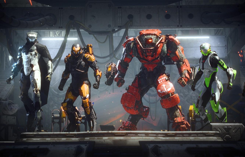 Фото обои game, Electronic Arts, Anthem