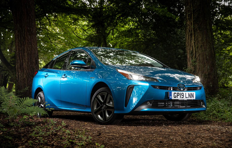 Фото обои Toyota, Prius, 2019