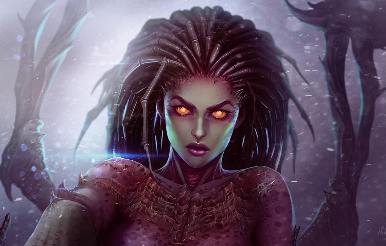 Обои starcraft, queen of blades, Королева Клинков, сара керриган. Игры foto 8