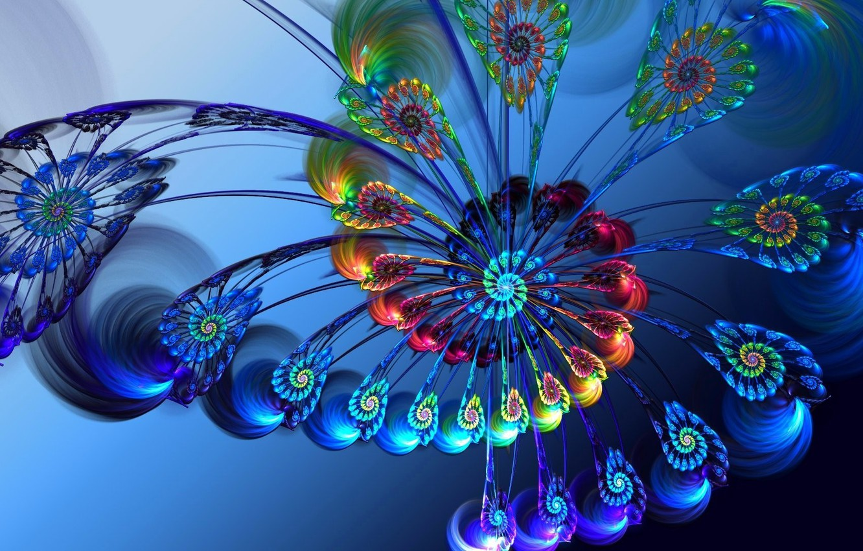 Обои спираль, волна, узор, Цвет, симметрия. Абстракции foto 12