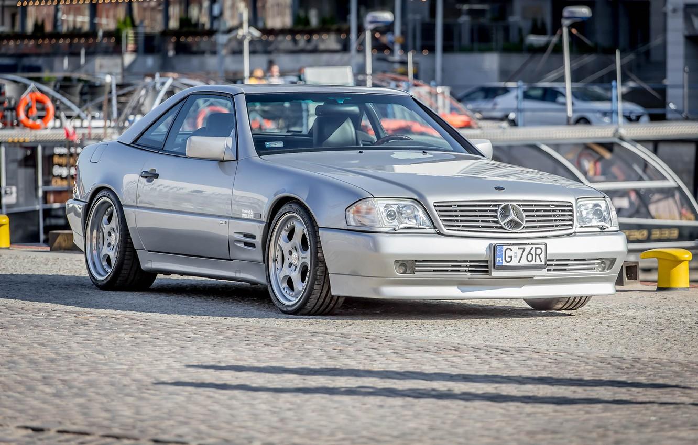 Фото обои Roadster, SL500, Mercedec Benz, R129