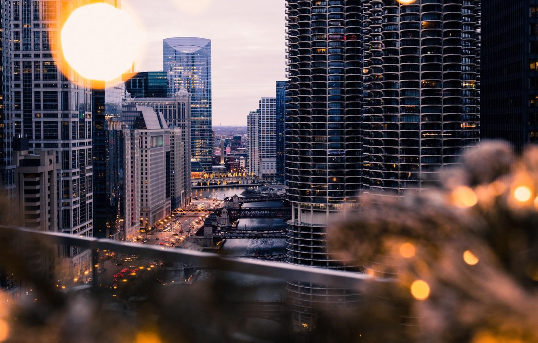 Обои здания, улица, красота, фонари, дома. Города foto 17