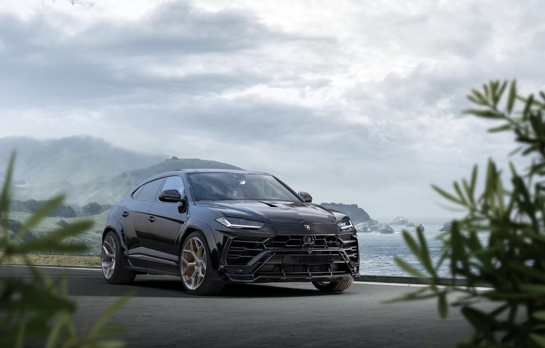 Фото обои Lamborghini, кроссовер, Urus, Novitec, 2019