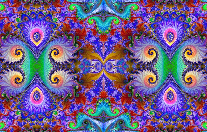 Обои фрактал, Цвет, узор. Абстракции foto 8