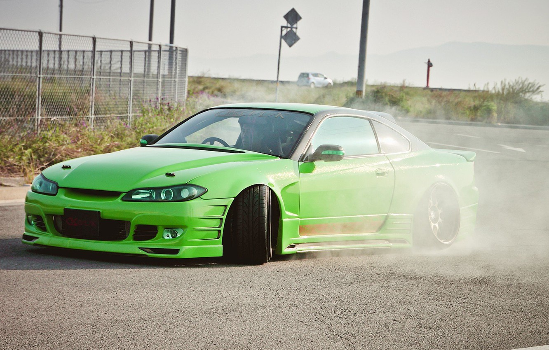 Фото обои S15, Silvia, Nissan, JDM