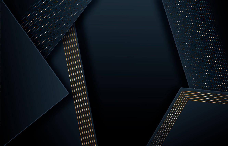 Фото обои линии, абстракция, точки, фигуры, треугольник