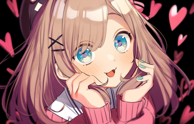 Фото обои взгляд, аниме, арт, Nijisanji, Virtual YouTuber, suzuhara lulu