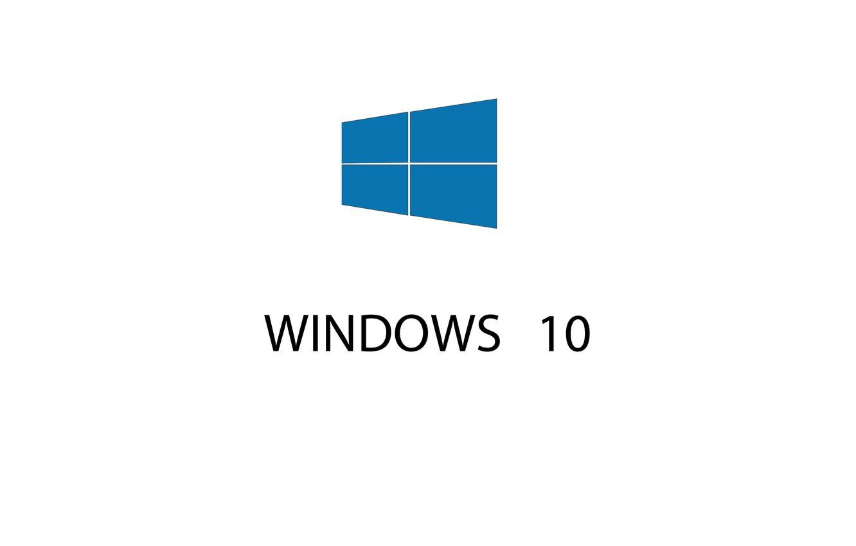 Фото обои окна, эмблема, hi-tech, windows 10