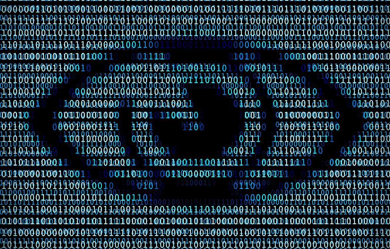 Фото обои binary, one, eye, code, zero