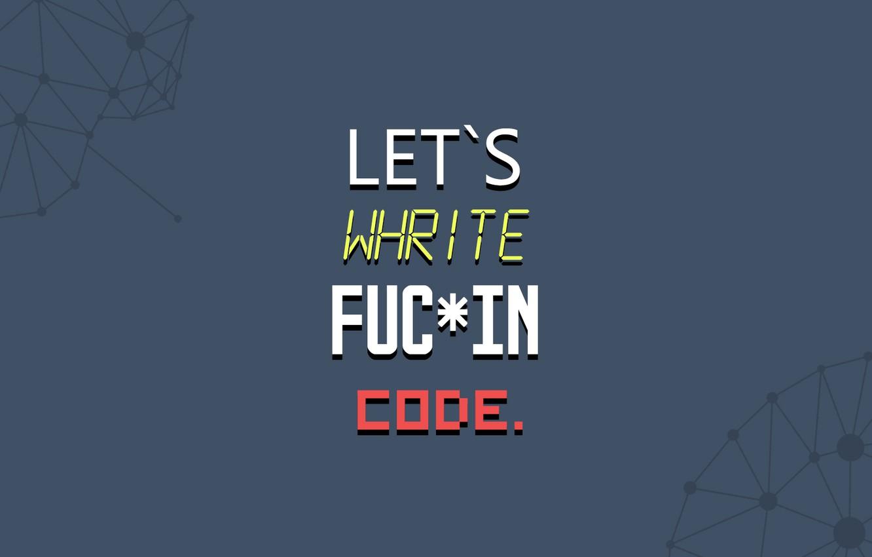 Фото обои minimalism, code, enjoy, motivation