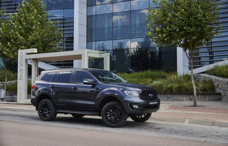 Фото обои улица, Ford, Sport, Everest, 4WD, 2021