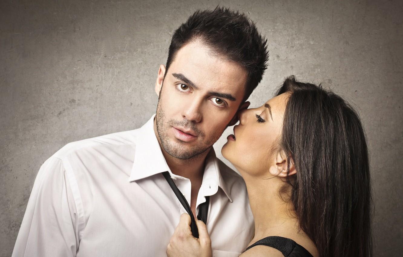 Фото обои взгляд, девушка, страсть, пара, мужчина, влюбленные