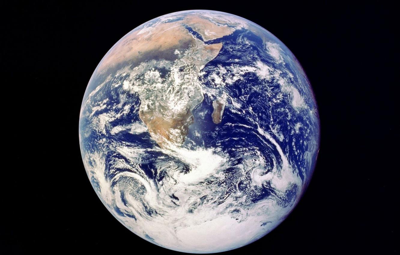 Фото обои пространство, земля, мир, планета