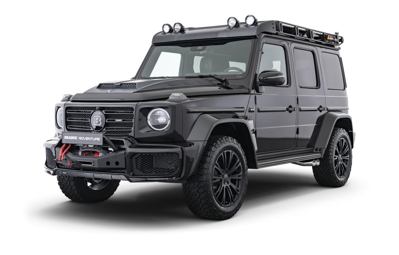 Фото обои Mercedes-Benz, Brabus, Adventure, 2019 D35