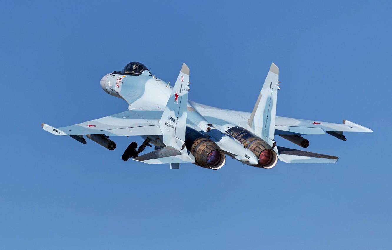 Обои Sukhoi, Su-30sm, истребитель, многоцелевой. Авиация foto 11