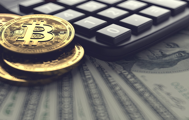 Money Dollars Bitcoin Calculator