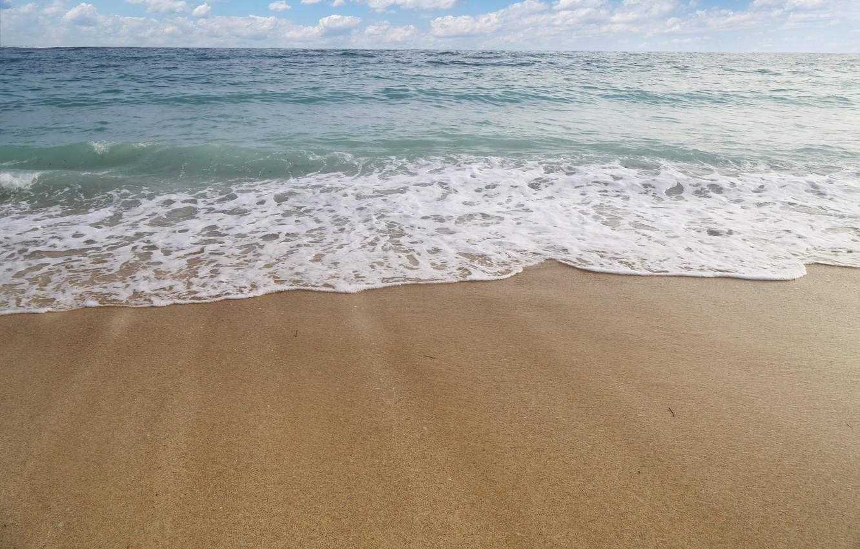 Фото обои песок, море, пляж, waves, beach, sea, sand