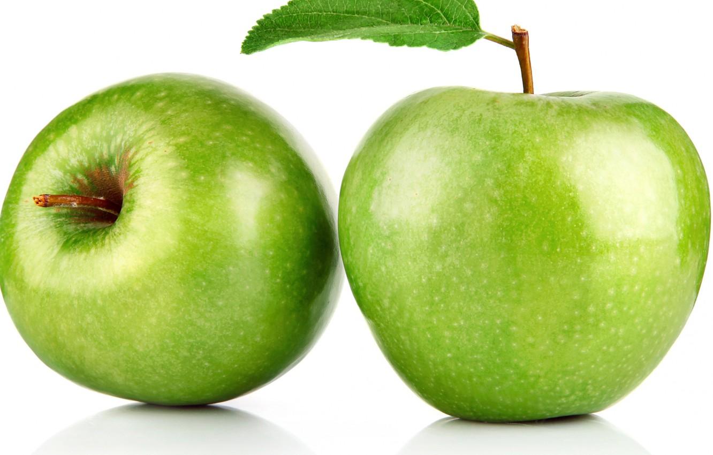 Фото обои макро, яблоко, фрукты, плод