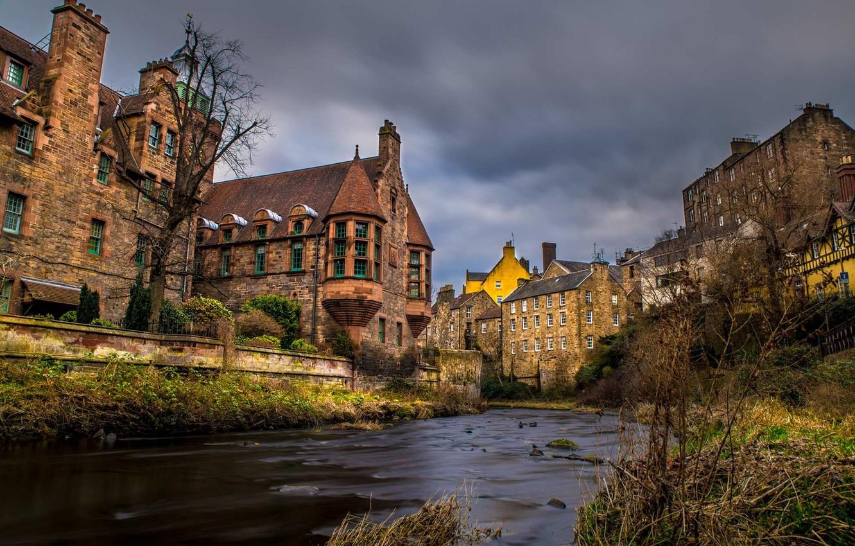 Обои scotland, эдинбург, утро, Шотландия, edinburgh. Города foto 14