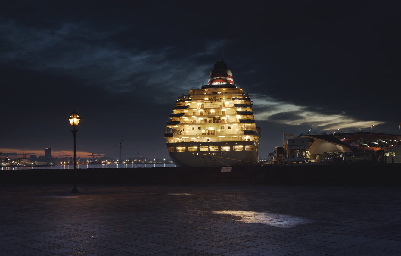 Фото обои japan, ship, port, yokohama