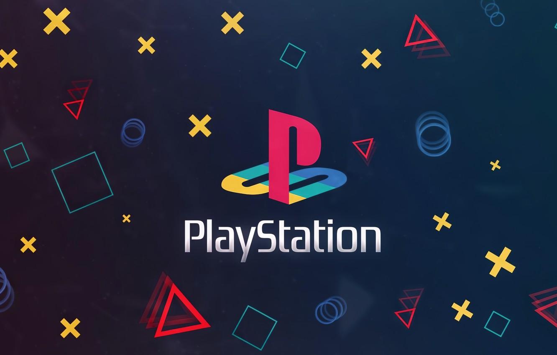 Фото обои Playstation, нолики, крестики