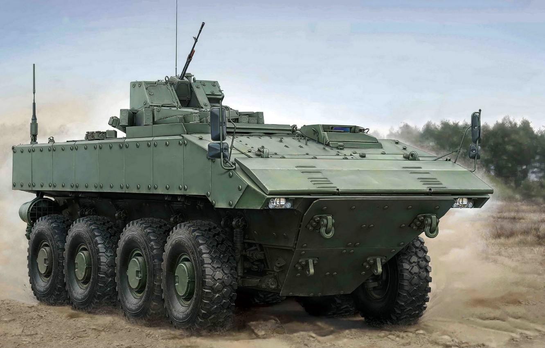 Фото обои боевая бронированная машина, Бумеранг, средней весовой категории, Унифицированная боевая платформа шифра «Бумеранг», колёсная платформа, перспективная …