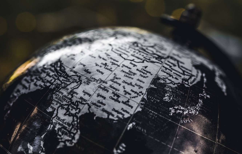 Фото обои карта, география, глобус, материк