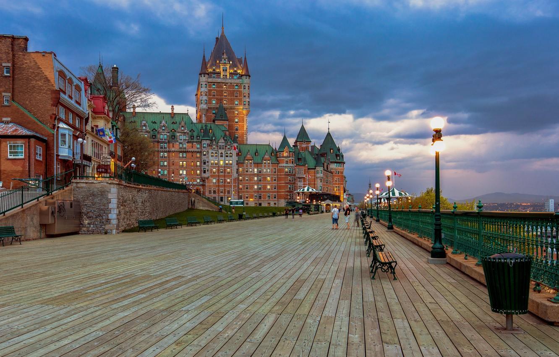 Фото обои Канада, отель, Квебек