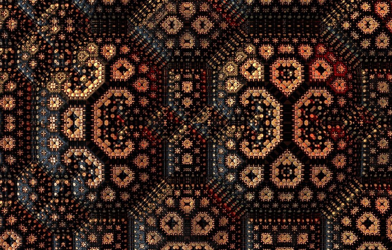 Фото обои фон, цвет, fractal