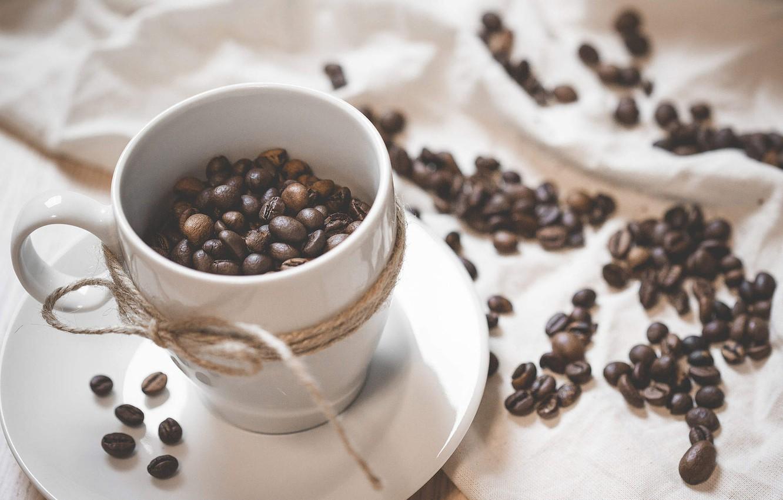 Обои coffee beans, coffee, wood, кофе, чашки, кофейные зёрна. Еда foto 11
