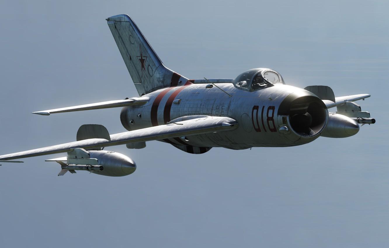 Фото обои КБ МиГ, Истребитель-перехватчик, МиГ-19П