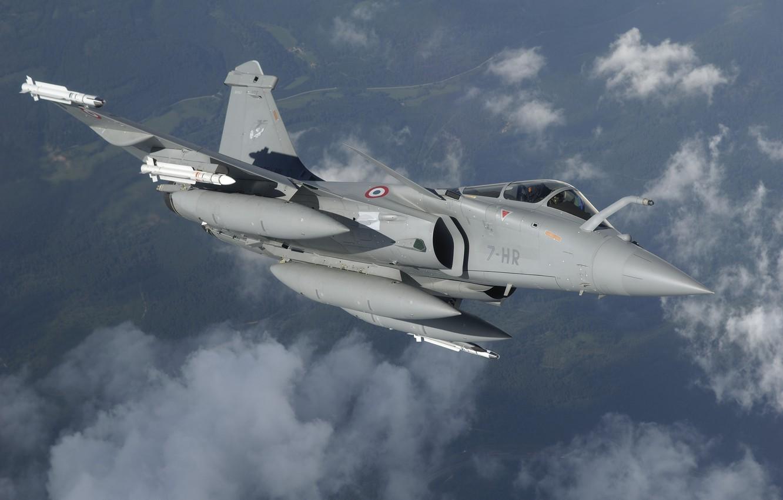 Обои ВВС Франции, MBDA MICA, Ракета, ПТБ, Dassault Rafale, Armée de l'Air, Истребитель, Rafale D. Авиация foto 6