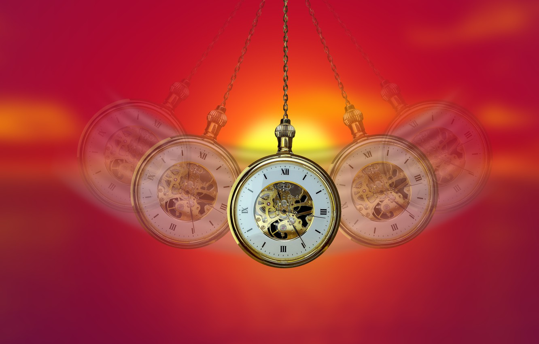 Фото обои время, часы, гипноз