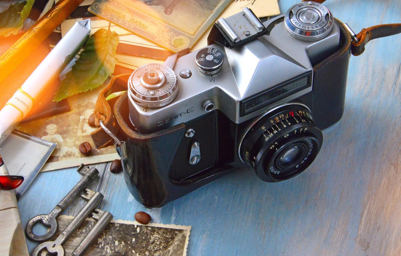 Обои vintage, Фотоаппараты. HI-Tech foto 13