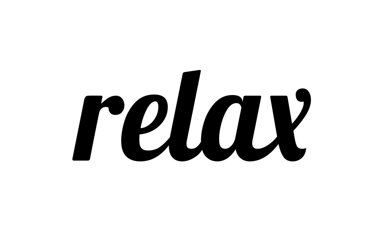 Фото обои буквы, relax, слово