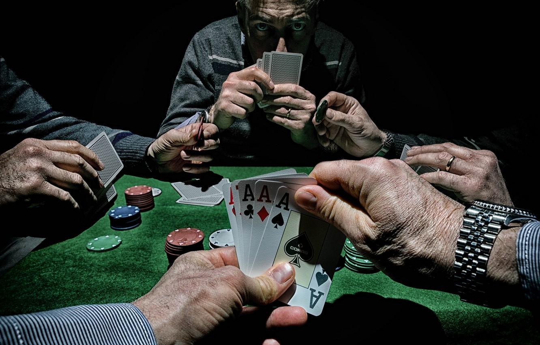 Обои карты, игра, Poker картинки на рабочий стол, раздел ситуации - скачать