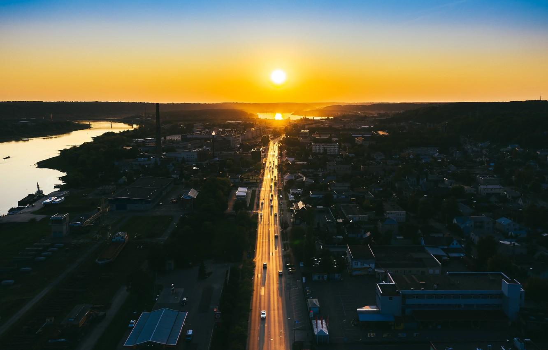 Фото обои Lithuania, Kaunas, Smėliai