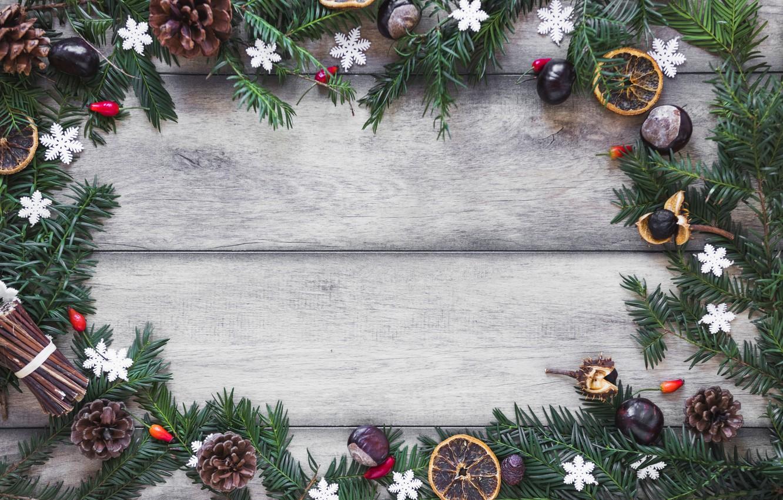 Фото обои украшения, Новый Год, Рождество, Christmas, wood, New Year, decoration, Merry, fir tree, ветки ели