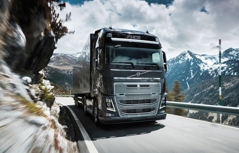 Фото обои volvo, truck, fh16