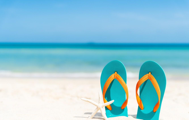 Фото обои песок, море, волны, пляж, лето, берег, звезда, summer, beach, sea, sand, marine, сланцы, starfish