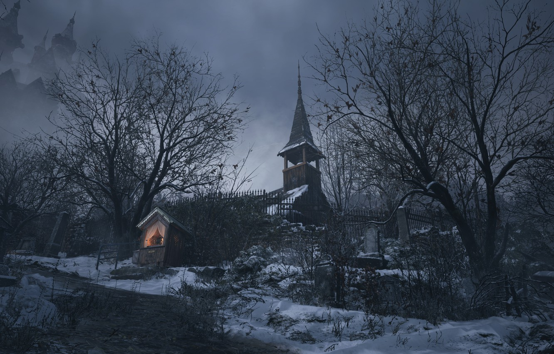 Фото обои Resident Evil, Capcom, Village, Resident Evil Village