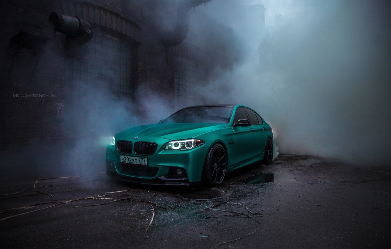 Фото обои BMW, F10, 550, Zero Project I