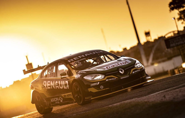 Фото обои Renault, Автоспорт, Autosport, Fluence, STC 2000