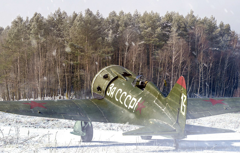 Обои истребитель, ВВС РККА, советский, великая отечественная война, одномоторный, ссср. Авиация foto 12