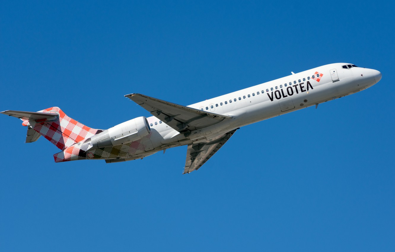 Фото обои Boeing, лайнер, Volotea Airlines, 717-200